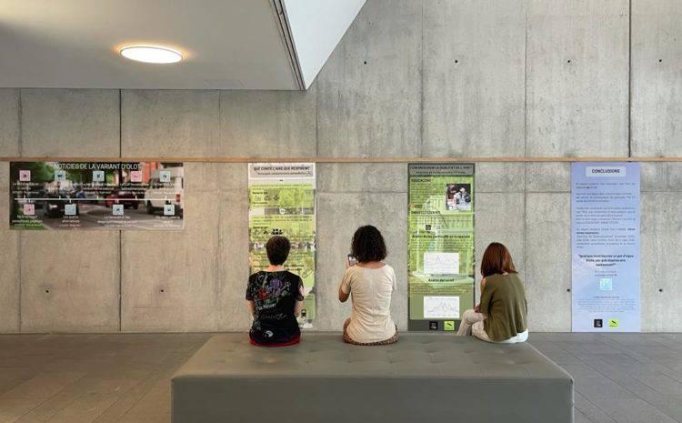 Exposició del projecte 'És net l'aire que respirem?'